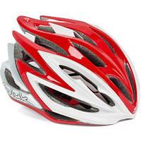 Шлем велосипедный Spiuk HELMET DHARMA 2014 RED/WHITE Size 53 - 61