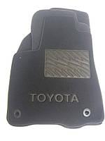Ворсовые коврики Toyota Highlander 2012 -