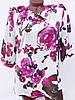 Цветастые блузки больших размеров (в расцветках 50-52), фото 3