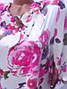 Цветастые блузки больших размеров (в расцветках 50-52), фото 2