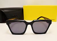 Женские солнцезащитные очки Fendi FF0889 Черный цвет