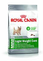 Royal Canin MINI LIGHT WEIGHT CARE (МИНИ ЛАЙТ ВЕЙТ КАРЕ ДЛЯ МАЛОАКТИВНЫХ И СКЛОННЫХ К ОЖИРЕНИЮ) 0,8КГ