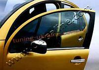 Нижние молдинги стекол Omsa на Citroen C3 2002-2011