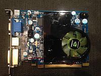 ВИДЕОКАРТА Pci-E GEFORCE 8600 GS на 512 MB 128 BIT DDR2 с ГАРАНТИЕЙ ( видеоадаптер 8600GS 512mb  )