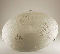 Круглый накладной светильник в ванную в стиле Модерн Серебро 3*60Вт Vesta Light 25190