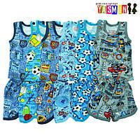 Костюм летний для мальчиков майка с шортами