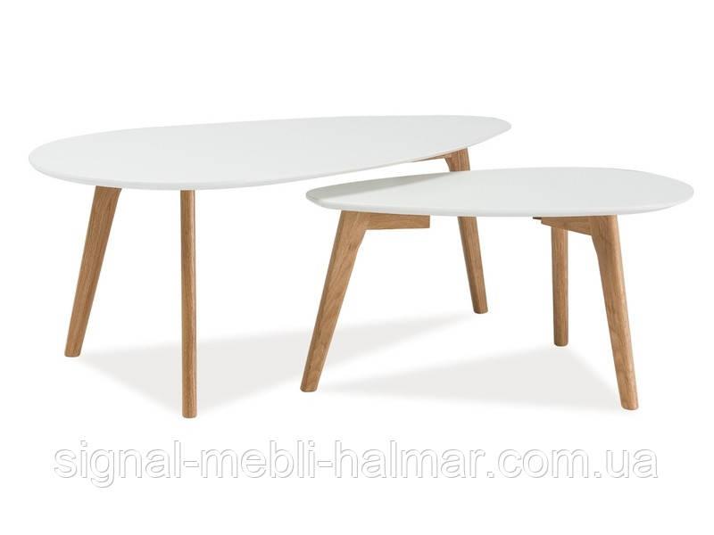 Журнальный столик Milan L2 комплект с 2 шт (SIGNAL)