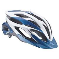 Шлем ВВВ BHE-02 Everest, синий/белый/серебристый, L