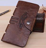 Мужской кошелек бумажник Bailini Cowboy