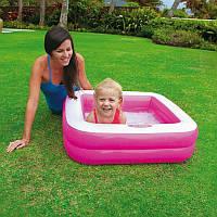 Надувной бассейн Intex 57100 (85*85*23см)