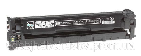 Картридж HP 125A black CB540A для принтера CLJ CM1312, CM1312nfi, CP1210, CP1215, CP1510, CP1515n, CP1518ni