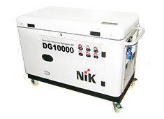Однофазный дизельный генератор NIK DG10000 (Автозапуск) (10 кВт)