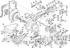 Запасные части к горелке Riello серии RL 28 38 50 M