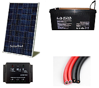 Автономна сонячна електростанція 100 Вт (від 12 кВт/місяць)
