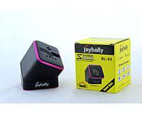 Мобильная колонка SPS BL 02 BT, аккумулятор, Bluetooth, 500 mAh, MicroSD, TF Card, USB, AUX 3,5 мм, Мобильная колонка
