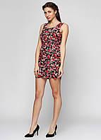 Летнее платье  с яркими цветами РМ6342-06