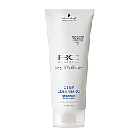 Шампунь глубокой очистки для жирных волос SCHWARZKOPF BC Deep Cleanse 200 мл