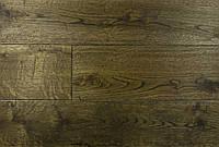 "Паркетная доска массив, Массивна доска, Доска пола ""Дуб Венге"", 15х100х400-1200 мм. Натур."