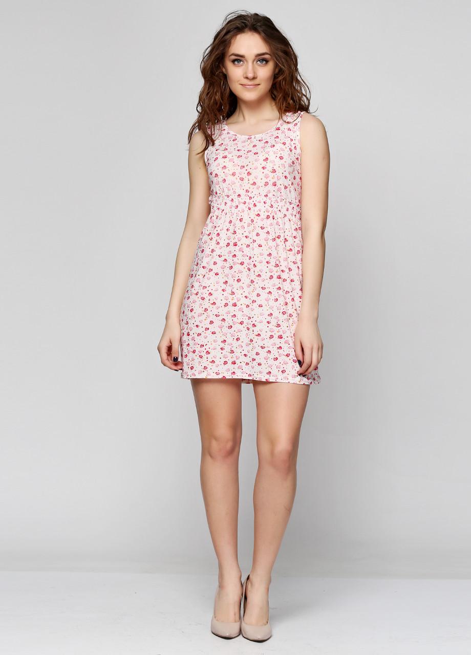 Летнее платье  с рисунком размер UNI (40) FS-6342-08