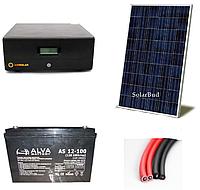Автономна сонячна електростанція 300 Вт (від 36 до 43 кВт/місяць)