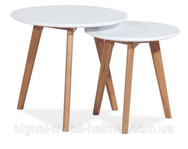 Журнальный столик Milan S2  в комплекте 2 столика (SIGNAL)