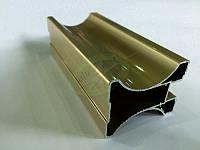 Профиль алюминиевый для раздвижных дверей, цвет беж