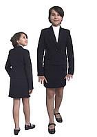 Пиджак школьный для девочки м-1089 рост 116-170, фото 1