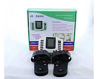 Тапочки массажные Digital slipper JR-309A, электронное управление, батарейки / сеть, быстрое подключение, 9 скоростей, тапочки массажеры
