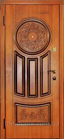 Входная дверь Каскад серия Элит модель Круг