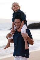 Натуральная одежда из льна. Рубашка папе и сыну. Любая модель и любой цвет.