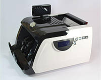 Счетчик и сортировщик банкнот 6200 для денег, 4 скорости, 85 Вт, 220 В, скорость 600 - 1800 шт/мин, до 300 банкнот, машинка для денег 6200