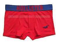 Мужские трусы боксёры Hollister красные