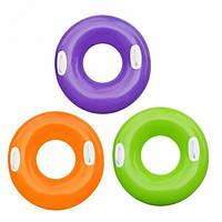 Круг для плавания большой с ручками Intex 59258 цвета в ассортименте