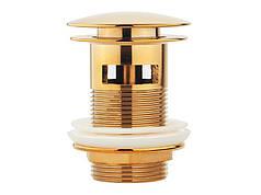Донный клапан NEWARC (740773G) золото
