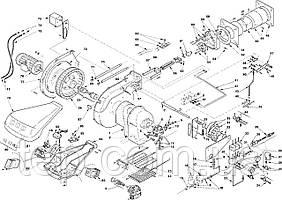 Запасні частини до пальника Riello серії RL 190 M
