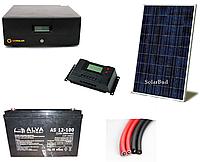 Автономна сонячна електростанція 750 Вт (від 90 до 117 кВт/місяць)