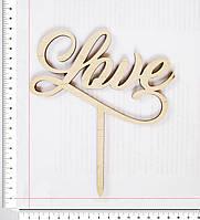 Топер Love 17 х 15 см