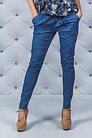 Женские брюки на шнурке джинс