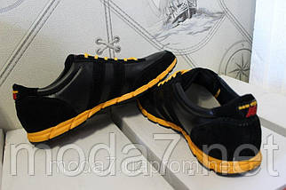 Мужские кожаные кроссовки New Balance(ч) реплика, фото 3