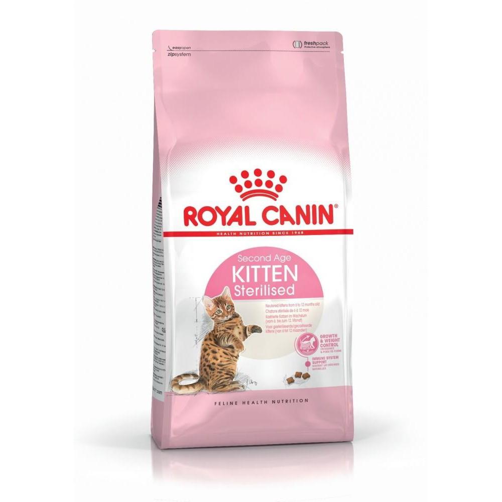 Сухой корм Royal Canin Kitten Sterilised для котят, 0,4КГ
