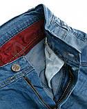 Капри шорты голубые рваные мужские джинсовые Mario, фото 7