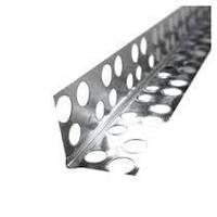 Уголок алюминиевый перфорированный 2.5м