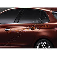 Накладки на дверные ручки Omsa на Citroen C4 2010 седан