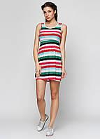 Летнее женское платье полосатое СС6342-03