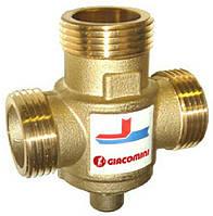 Термостатический трехходовой клапан Giacomini DN25 60 °C