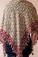Платок с цветочным принтом