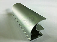 Профиль и комплектующие AluStar, Optimal Сosts, цвет серебро