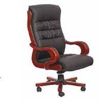 Кресло Президент 02 (6243 Black PU+PVC) чёрный.