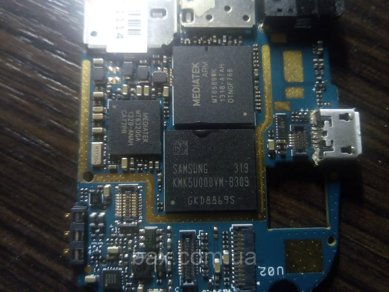 Микросхема памяти Samsung KMK5U000VM-B309 На плате