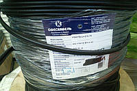 Кабель для видео наблюдения ОДЕСКАБЕЛЬ 660+2х0,75,цвет чёрный